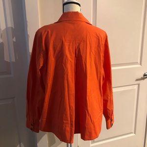 CAbi Jackets & Coats - Hi-Low CAbi Orange Jacket